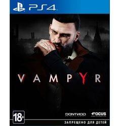 Игра Vampyr (PS4) (rus sub)