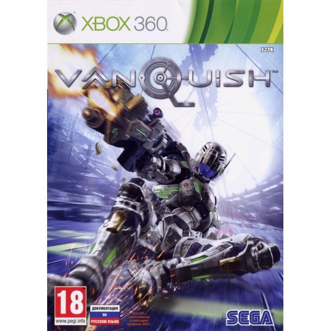Игра Vanquish (Xbox 360) б/у (rus doc)