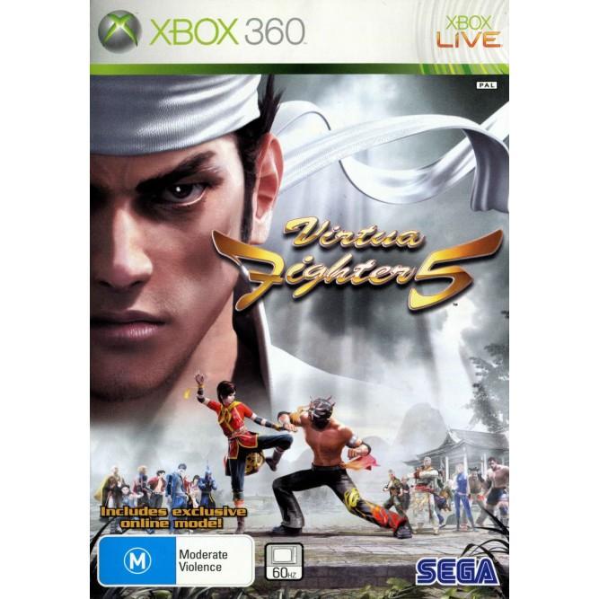 Игра Virtua Fighter 5 (Xbox 360) б/у