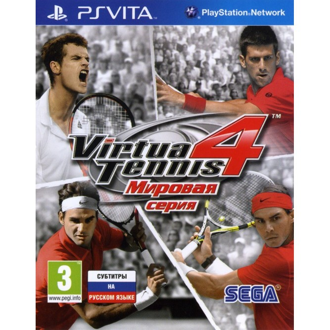 Игра Virtua Tennis 4: Мировая серия (PS Vita) б/у