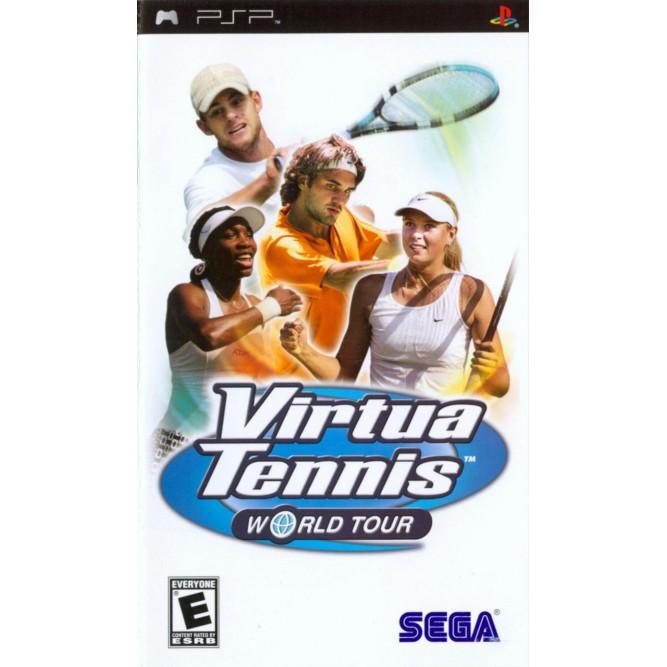Игра Virtua Tennis: World Tour (PSP) б/у