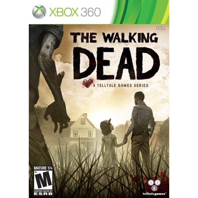Игра The Walking Dead: A Telltale Game Series (Xbox 360) (eng) б/у
