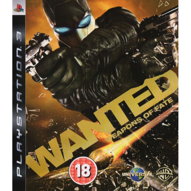 Игра Wanted: Weapons of Fate (PS3) б/у