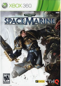 Игра Warhammer 40 000: Space Marine (Xbox 360) б/у