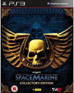 Игра Warhammer 40.000: Space Marine. Collector's Edition (PS3) б/у (eng)