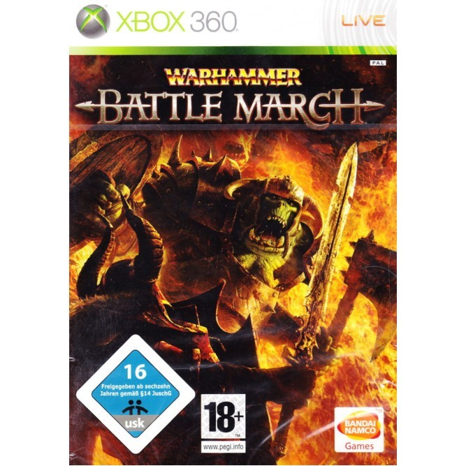 Игра Warhammer: Mark of Chaos - Battle March (Xbox 360) б/у (eng)