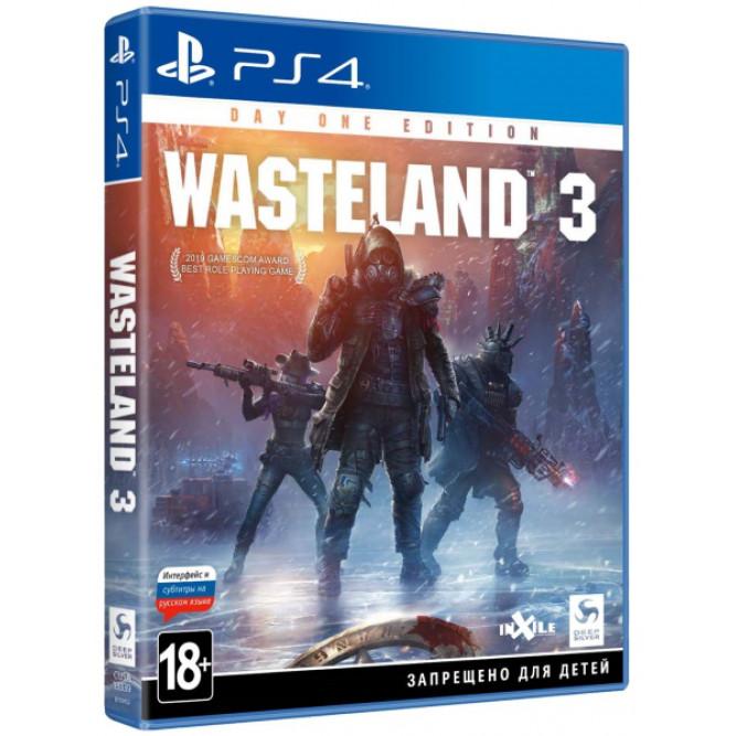 Игра Wasteland 3 (Издание первого дня) (PS4) (rus sub)