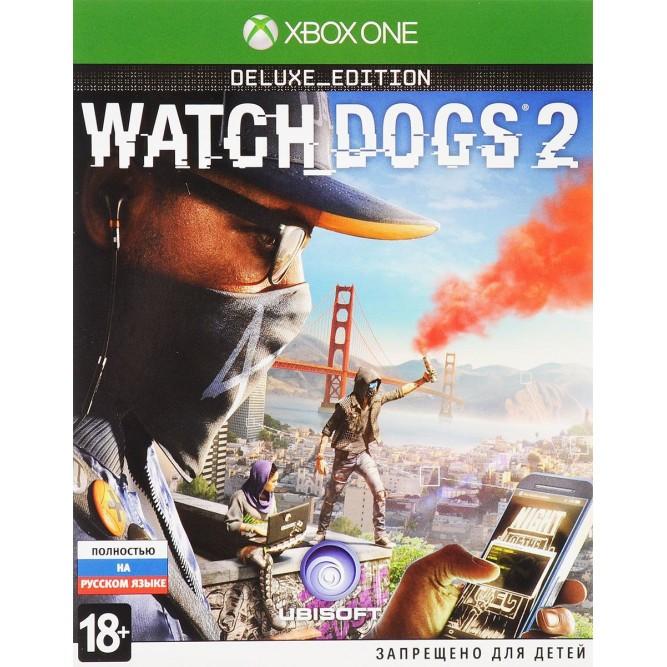 Игра Watch Dogs 2. Deluxe Edition (Xbox One) б/у (rus)