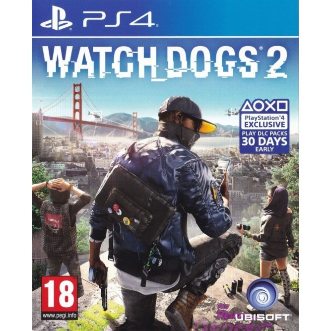 Игра Watch Dogs 2 (PS4) (rus) б/у