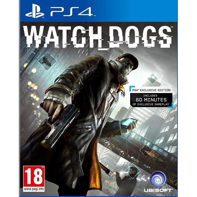 Игра Watch Dogs (PS4) б/у