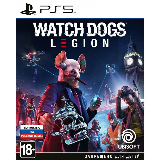 Игра Watch Dogs: Legion (PS5) (rus) б/у