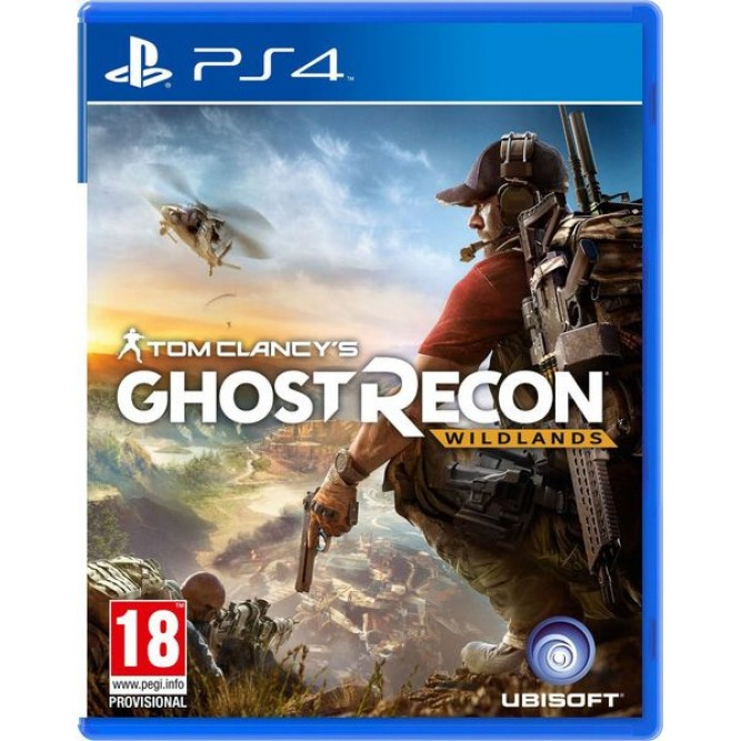 Игра Tom Clancy's Ghost Recon Wildlands (PS4) (б/у)