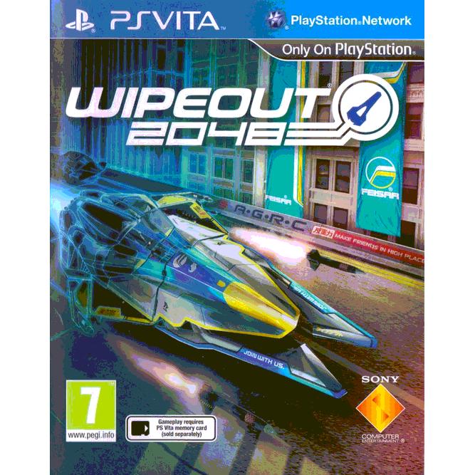 Игра WipEout 2048 (PS Vita) б/у