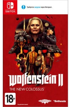 Игра Wolfenstein 2: The New Colossus (Nintendo Switch) б/у