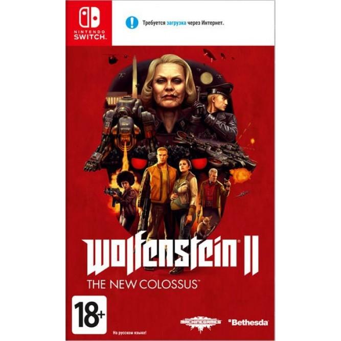 Игра Wolfenstein 2: The New Colossus (Nintendo Switch) б/у