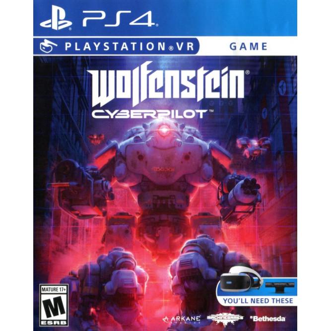 Игра Wolfenstein: Cyberpilot (Только для PS VR) (PS4) (eng)