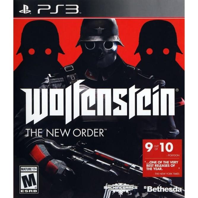 Игра Wolfenstein: The New Order (PS3) б/у