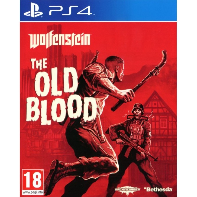 Игра Wolfenstein: The Old Blood (PS4) (rus sub)