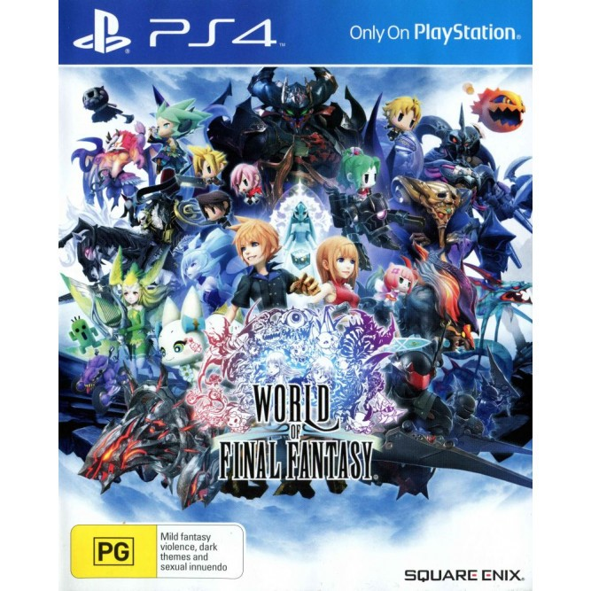 Игра World of Final Fantasy (PS4) б/у (rus sub)