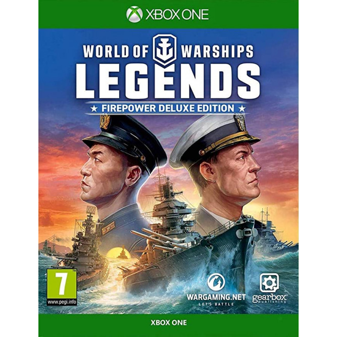 Игра World Of Warships: Legends - Firepower Deluxe Edition (Xbox One) (rus) б/у