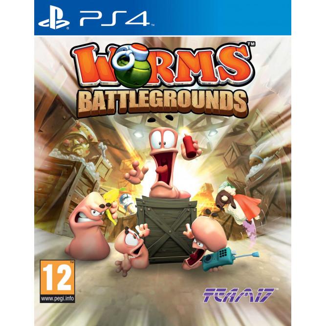 Игра Worms Battlegrounds (PS4) (eng)