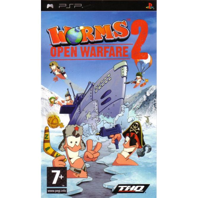 Игра Worms: Open Warfare 2 (PSP) б/у