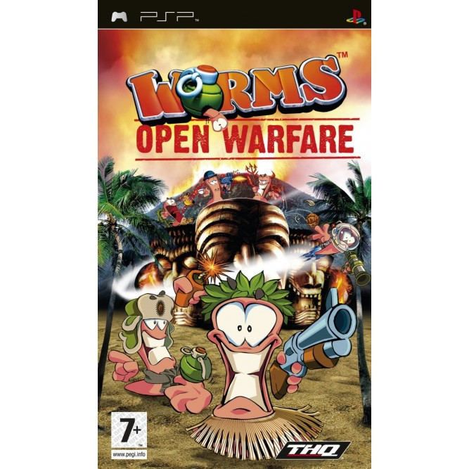 Игра Worms: Open Warfare (PSP) б/у (eng)