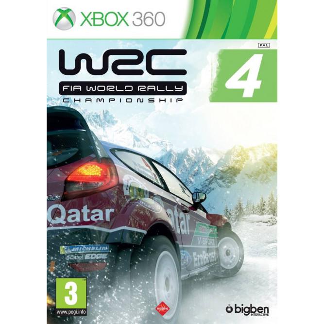 Игра WRC 4: FIA World Rally Championship (Xbox 360) (eng) б/у