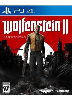 Игра Wolfenstein 2: The New Colossus (PS4) б/у (rus sub)