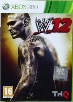 Игра WWE '12 (Xbox 360) б/у