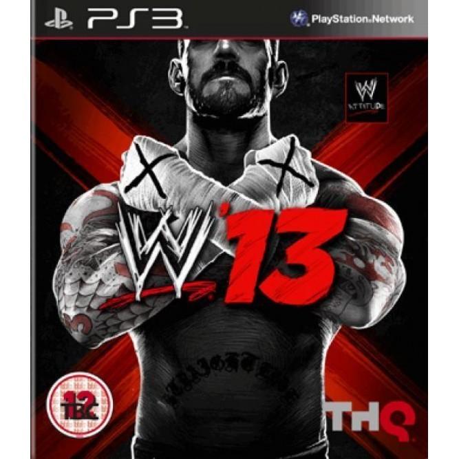 Игра WWE '13 (PS3) б/у (eng)
