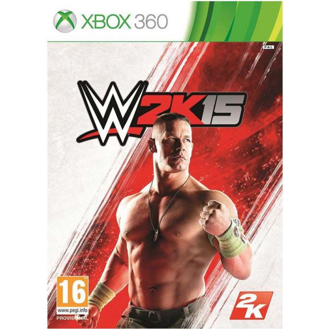 Игра WWE 2k15 (Xbox 360) б/у