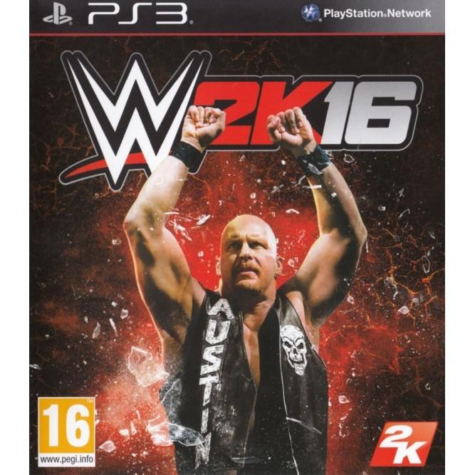 Игра WWE 2K16 (PS3) б/у (eng)