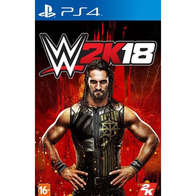 Игра WWE 2K18 (PS4) (rus)