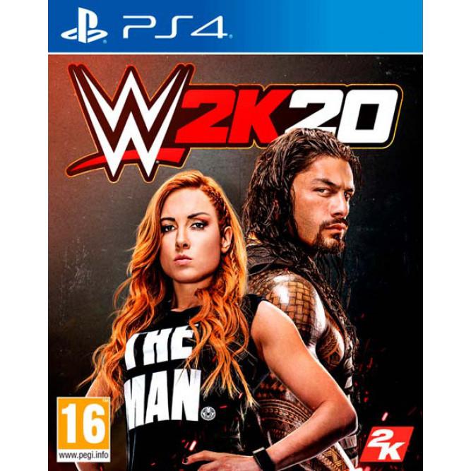 Игра WWE 2K20 (PS4) (eng) б/у