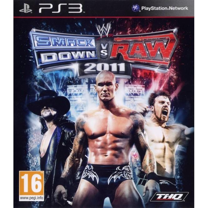 Игра WWE Smackdown vs. Raw 2011 (PS3) б/у
