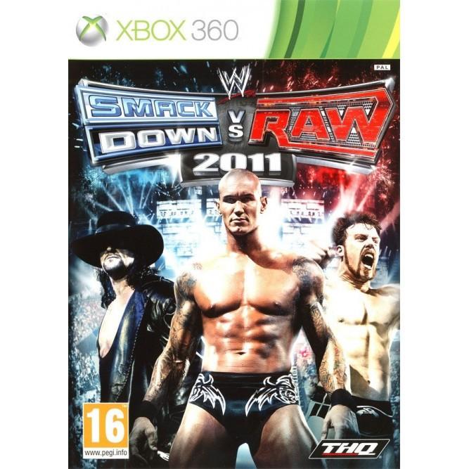 Игра WWE Smackdown vs. Raw 2011 (Xbox 360) б/у
