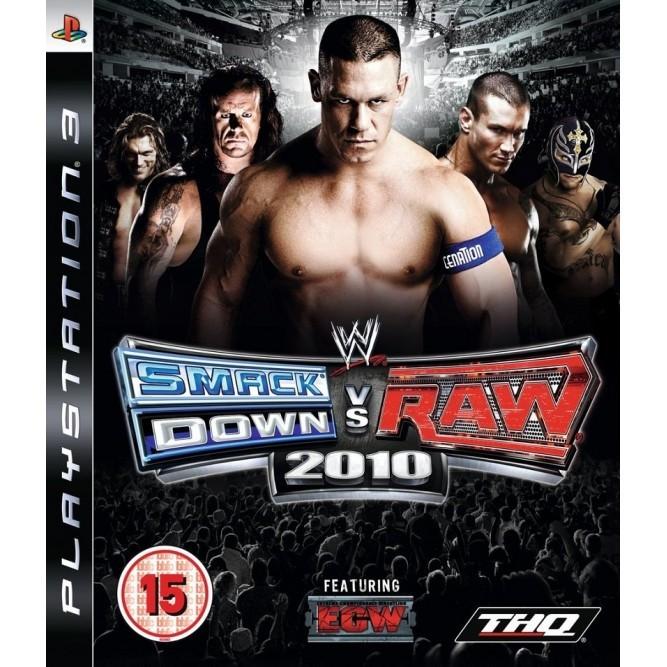 Игра WWE Smack Down vs Raw 2010 (PS3) б/у