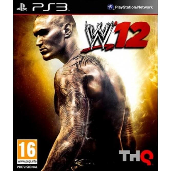 Игра WWE '12 (PS3) б/у (eng)