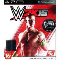 Игра WWE 2K15 (PS3) б/у
