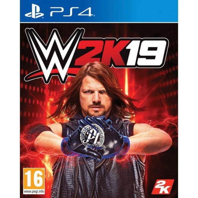 Игра WWE 2K19 (PS4) (eng) б/у