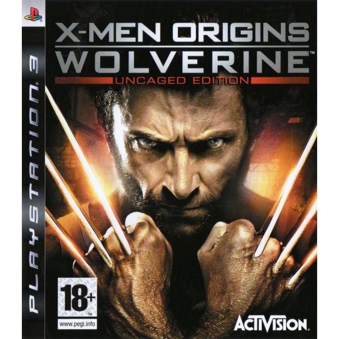 Игра X-Men Origins: Wolverine (PS3) б/у