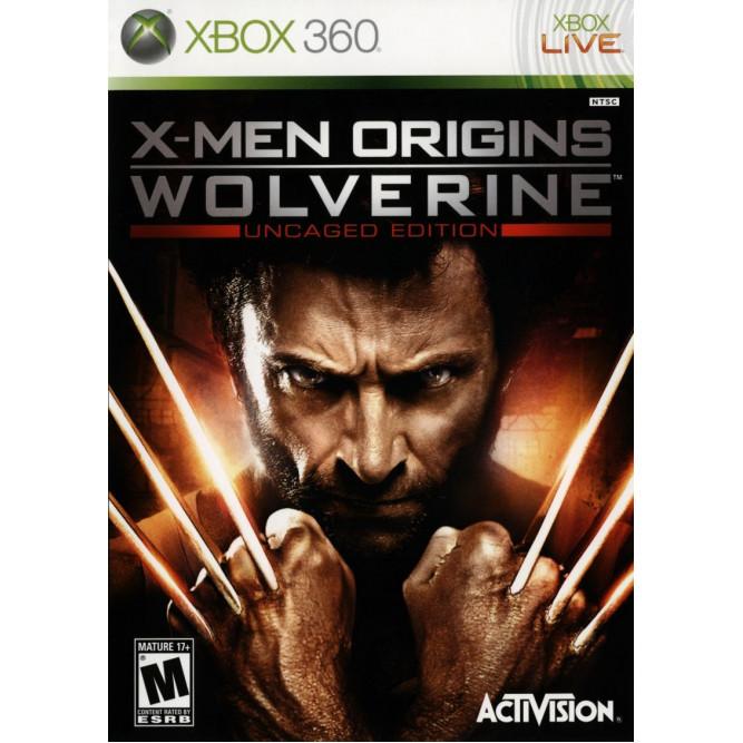 Игра X-Men Origins: Wolverine (Uncaged Edition) (Xbox 360) б/у (eng)