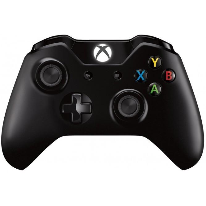 Геймпад Microsoft Controller для Xbox One S (Black) б/у