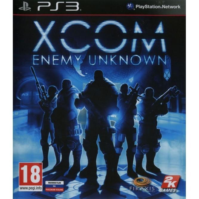 Игра XCOM: Enemy Unknown (PS3) б/у (rus)