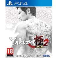 Игра Yakuza Kiwami 2 (Steelbook) (PS4) б/у (eng)