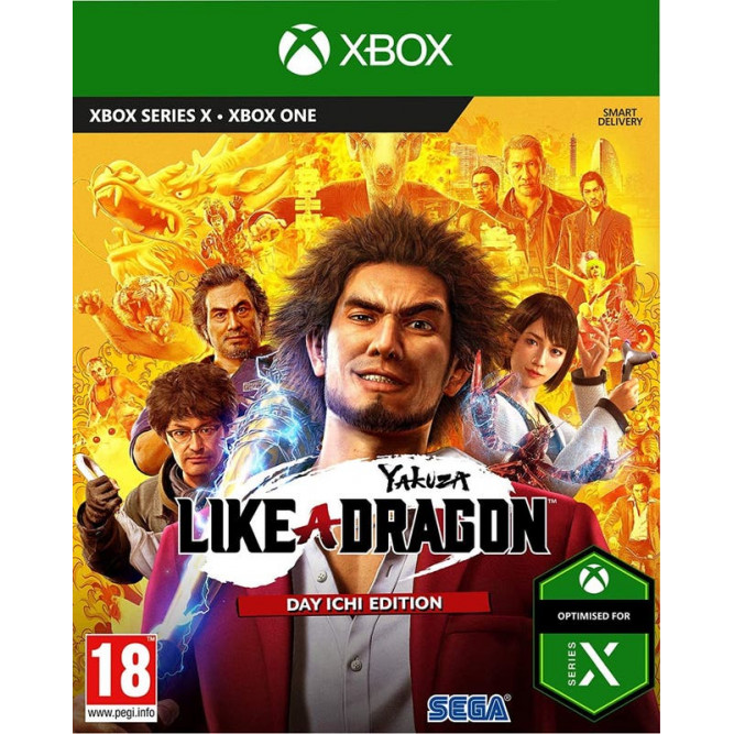 Игра Yakuza: Like a Dragon - Day Ichi Steelbook Edition (Xbox) (rus sub) б/у