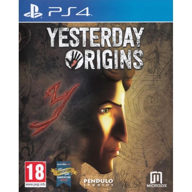 Игра Yesterday: Origins (PS4) б/у