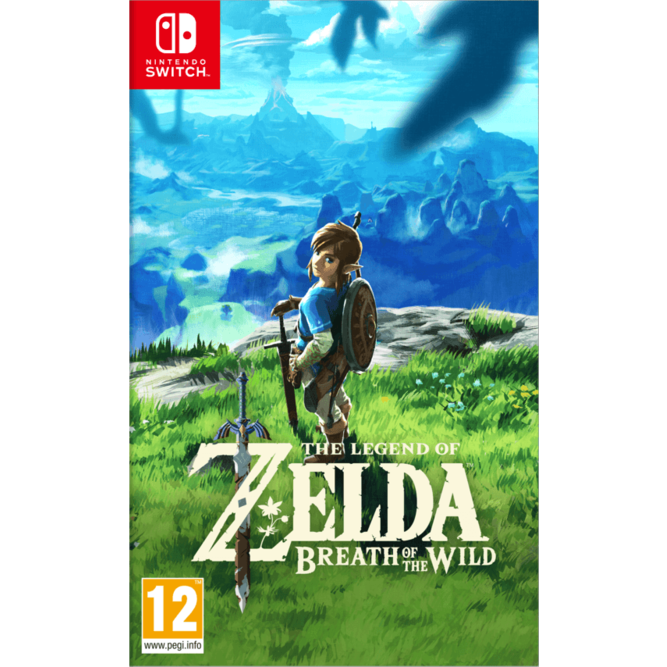 Игра The Legend of Zelda: Breath of the Wild (Nintendo Switch) (rus) б/у