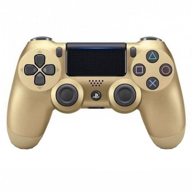 Геймпад Sony Dualshock 4 (PS4) V2, Золотой (аналог)